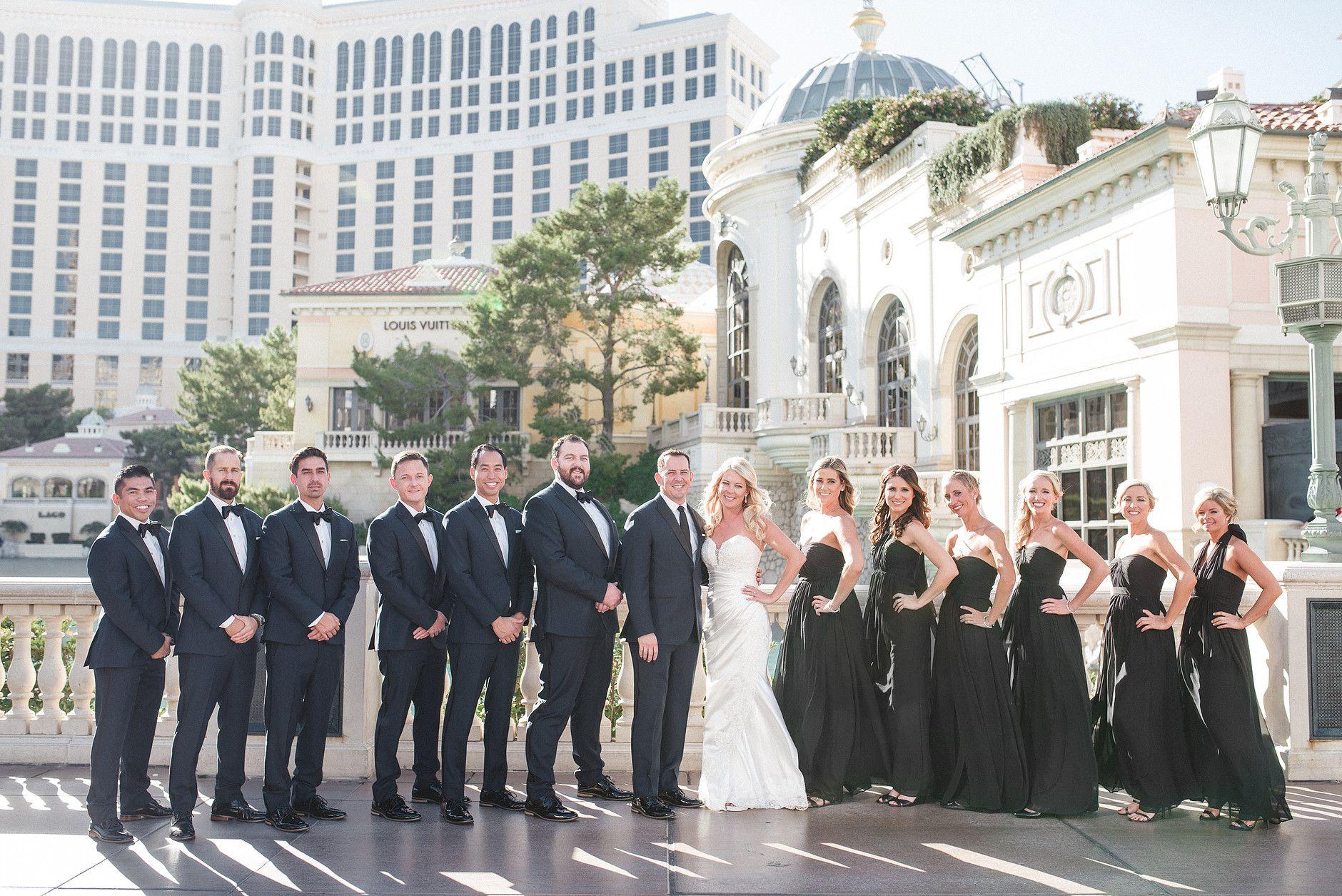 Hyde Bellagio Wedding Ceremony Moon Nightclub Reception Weddings