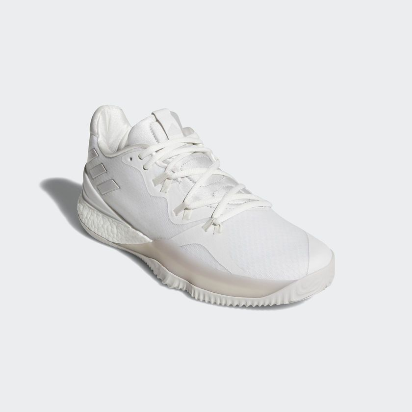 c5ac9b53db8ee9 adidas Crazylight Boost 2018 - crystal white chalk pearl ftwr white ...
