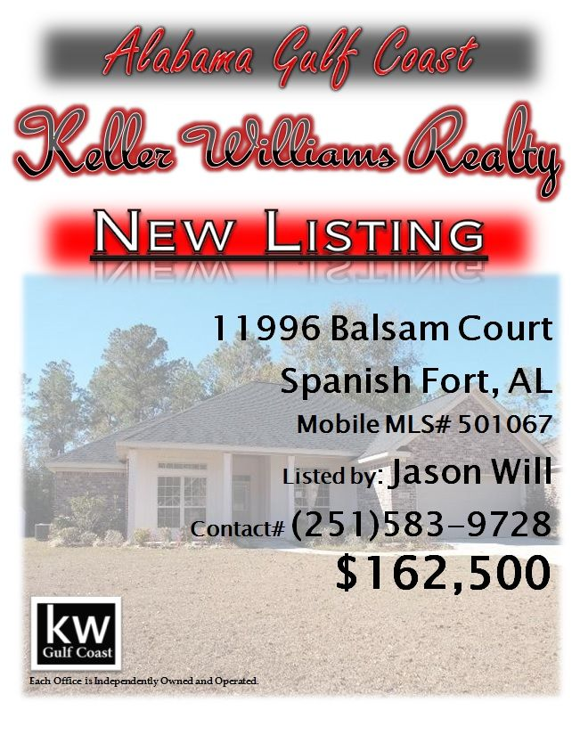 11996 Balsam Court Spanish Fort Al Mls 501067 162 500 3