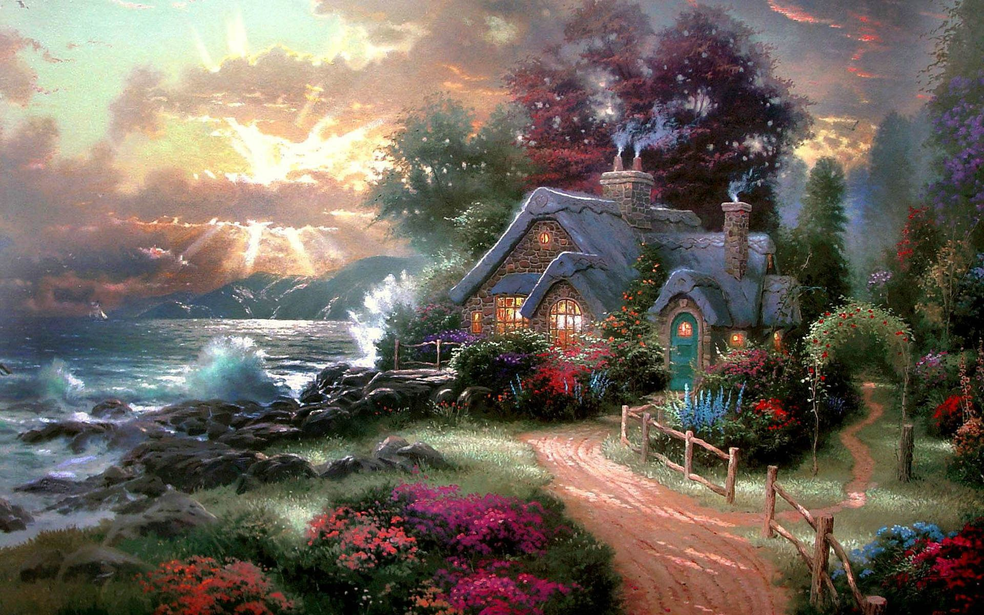 House On The Beach Wallpaper Google Search Nice
