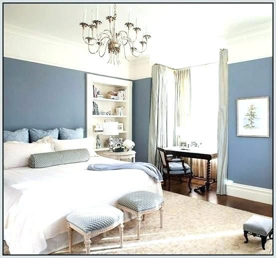 Pin by Amy Pidgeon on Wall decor   Blue bedroom walls ...