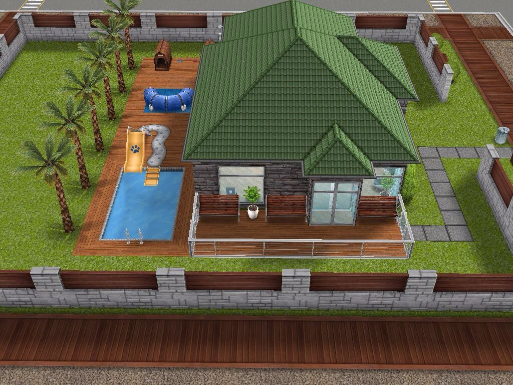 House 93 small vet clinic sims simsfreeplay