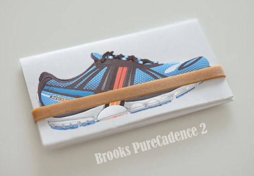 Brooks PureCadence 2 : S.Performance : Lean and fast its all the Brooks PureCadence 2 has been engineered to be. Offering resilient cushioning and a internal PDRB together with a soft upper and wide Nav Band will wraps your foot securely and moderate support. The PureCadence 2 is a great feel good low platform minimalist running shoe to encourage a more natural foot movement.