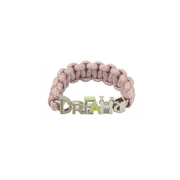 Disney Couture Icon Wide Pink DREAM Bracelet at Zentosa, found on polyvore.com <3