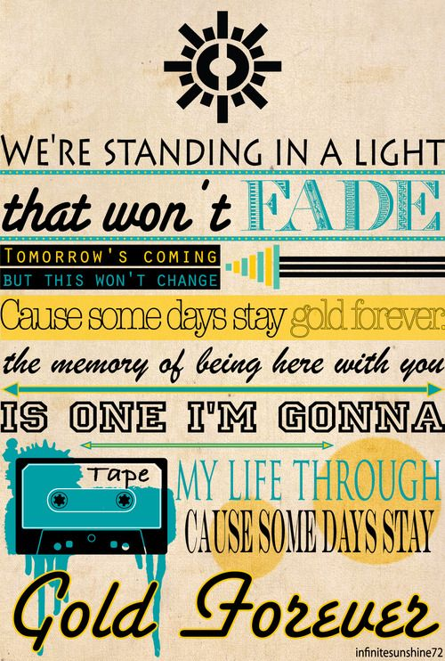 gold forever - the wanted