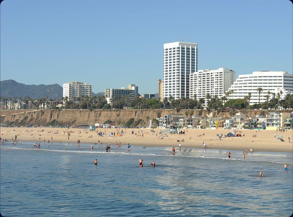 Welcome Downtown Santa Monica California Vacation Santa Monica Beach Santa