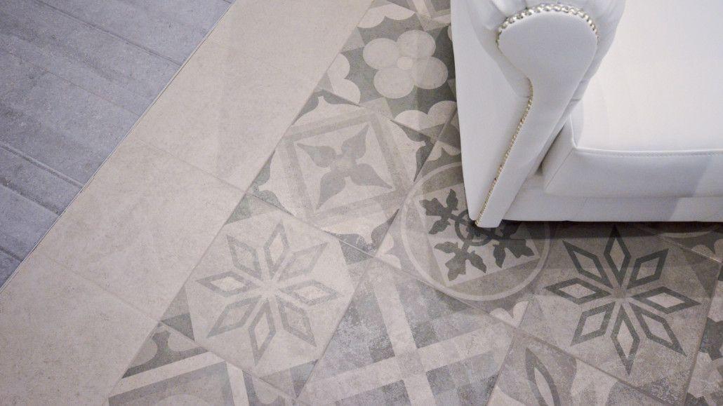 les motifs carreaux de ciment font leur grand retour saint maclou carrelage de ciment et ciment. Black Bedroom Furniture Sets. Home Design Ideas