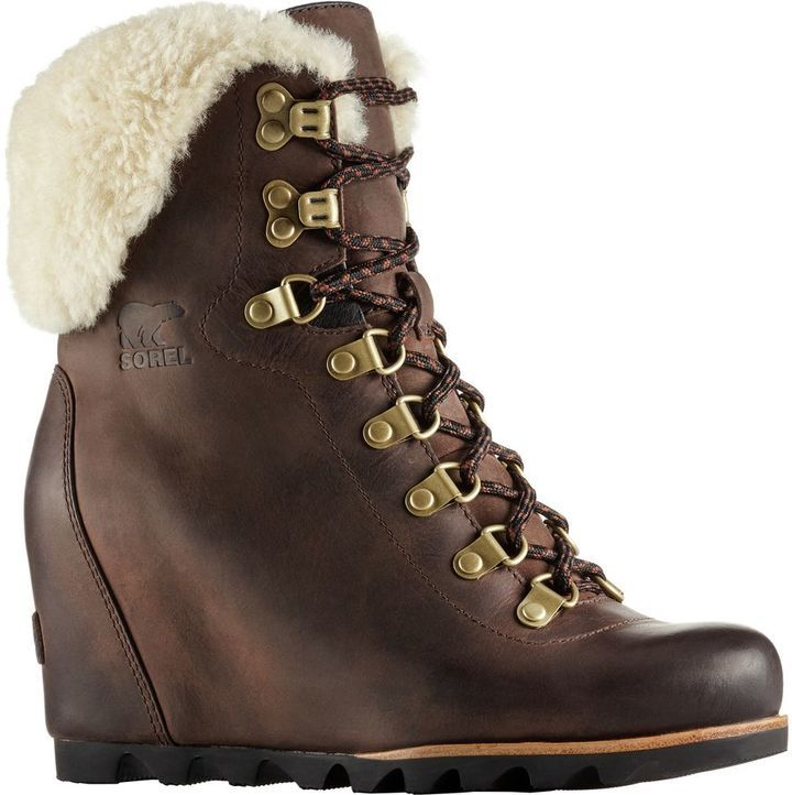 Where To Buy Low Price Free Shipping Sneakernews sorel CONQUEST WEDGE SHEARLING women's Mid Boots in Clearance Store Cheap Price Clearance Perfect I7c7BntP