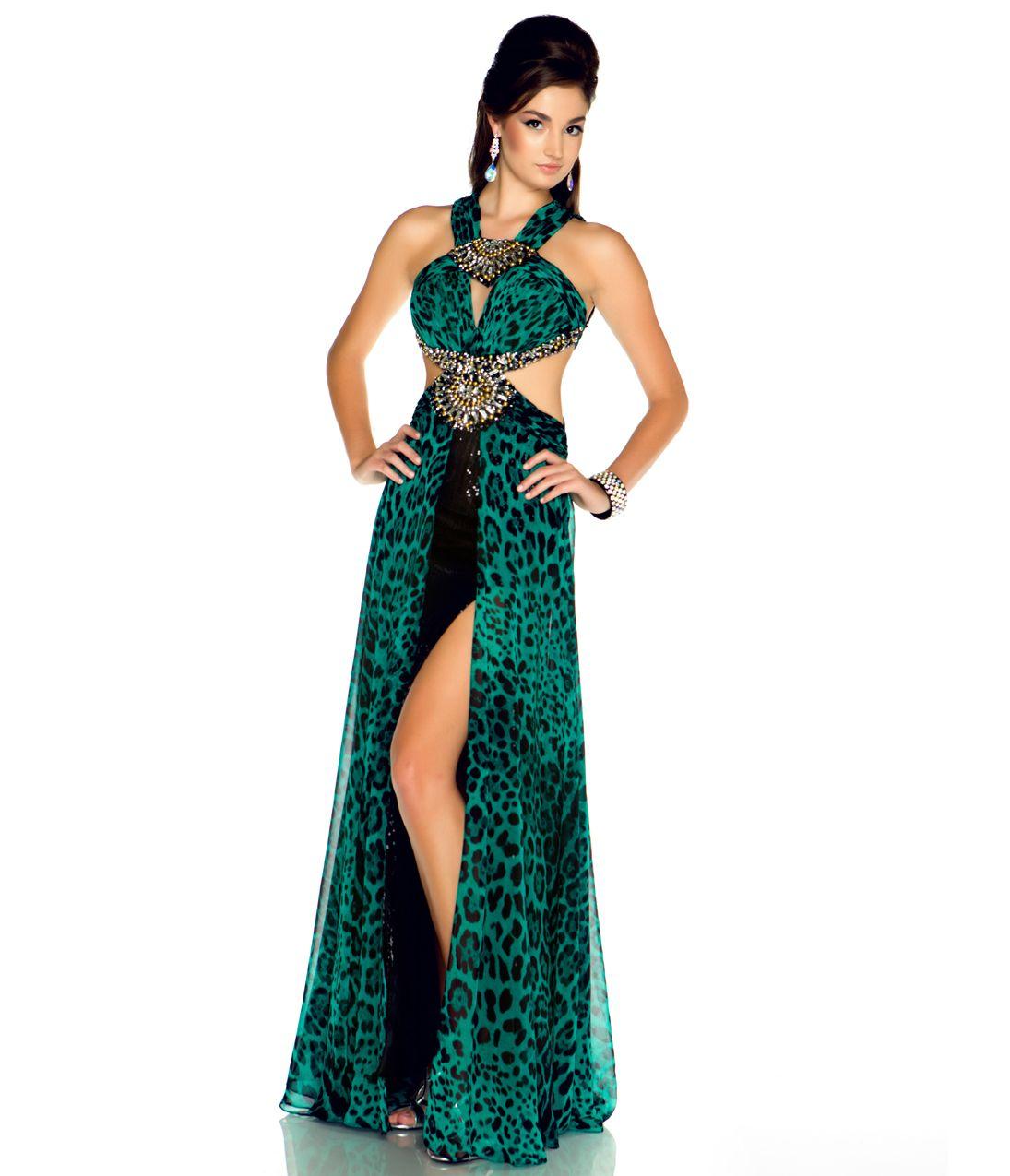 Cheetah Print Prom Dresses Duggal 2013 Prom Dresses Emerald