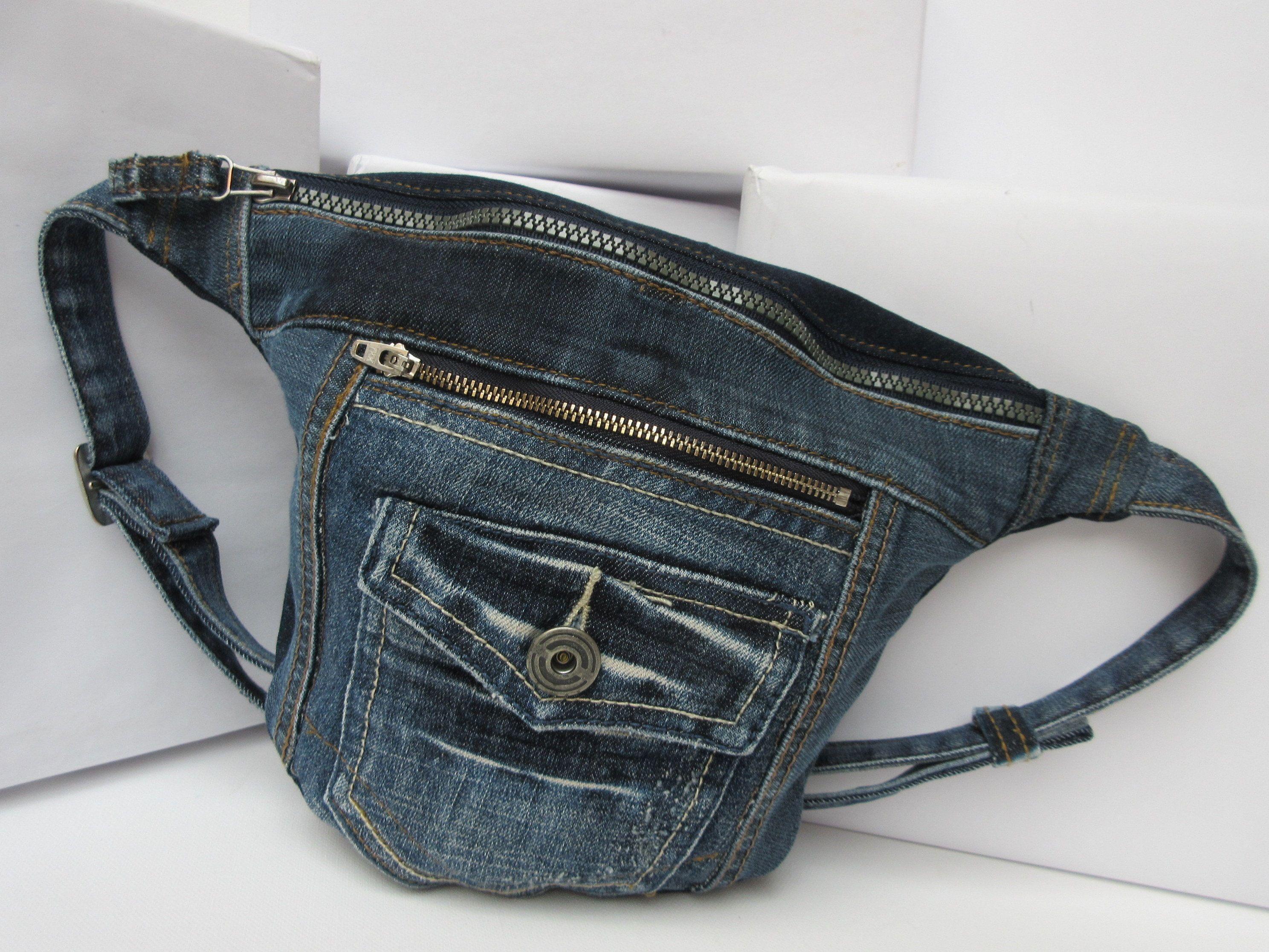 Bauchtasche Gürteltasche Sport Hüfttasche Waist Bag Fächer Tasche schwarz NEU