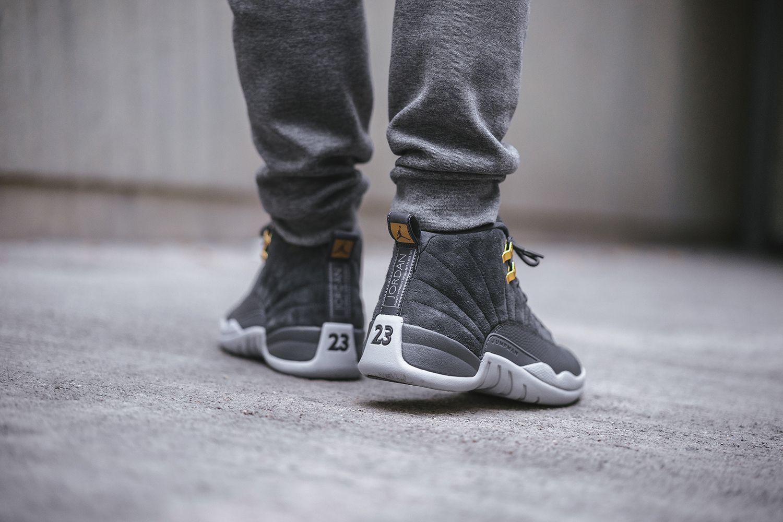 f3629470a41 Air Jordan 12 Dark Grey | shoes | Air jordans, Nike air jordans, Jordans