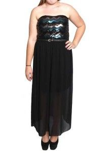 042086d256d Cute Strapless juniors plus size party dresses under  50