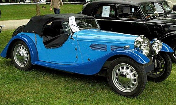 Les Voitures Automobiles De La Marque Morgan Voitures Anciennes De