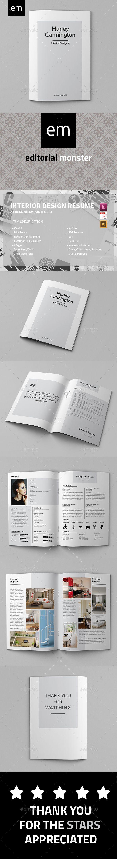 Interior Design Resume | Portafolio y Interiores
