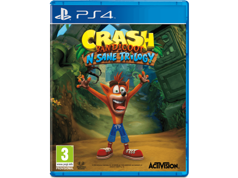 Crash Bandicoot N. Sane Trilogy en MEDIAMARKT