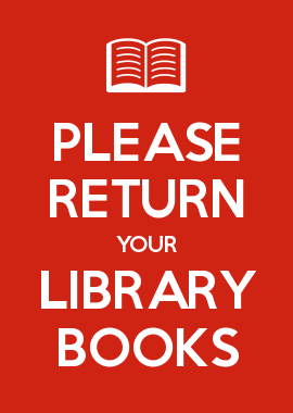 Image result for return library books