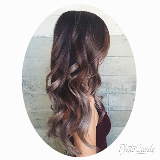 lilac grey ombre amp balayage hair pinterest gray