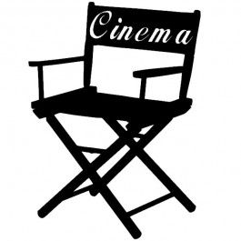 Sticker Chaise Cinema Dessin Cinema Fauteuil Cinema Deco Mariage Theme Cinema