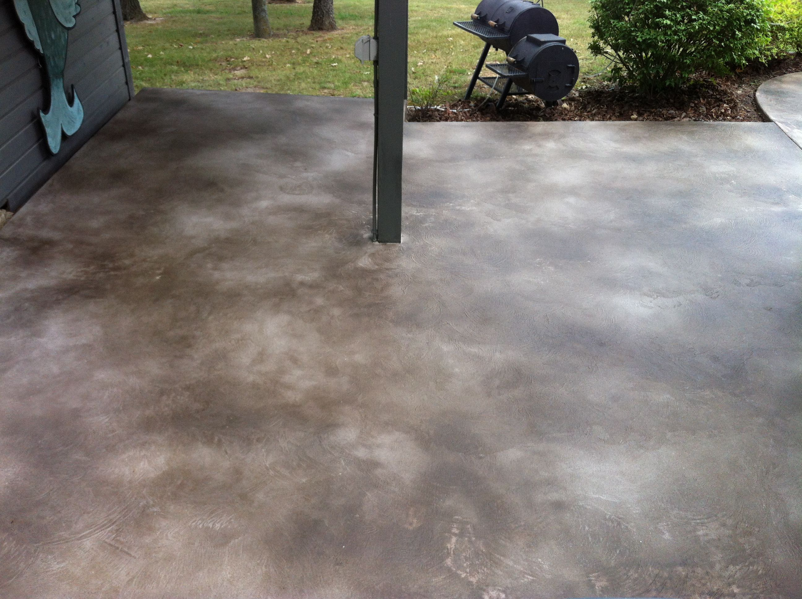 Image result for modern stained concrete patio Decks