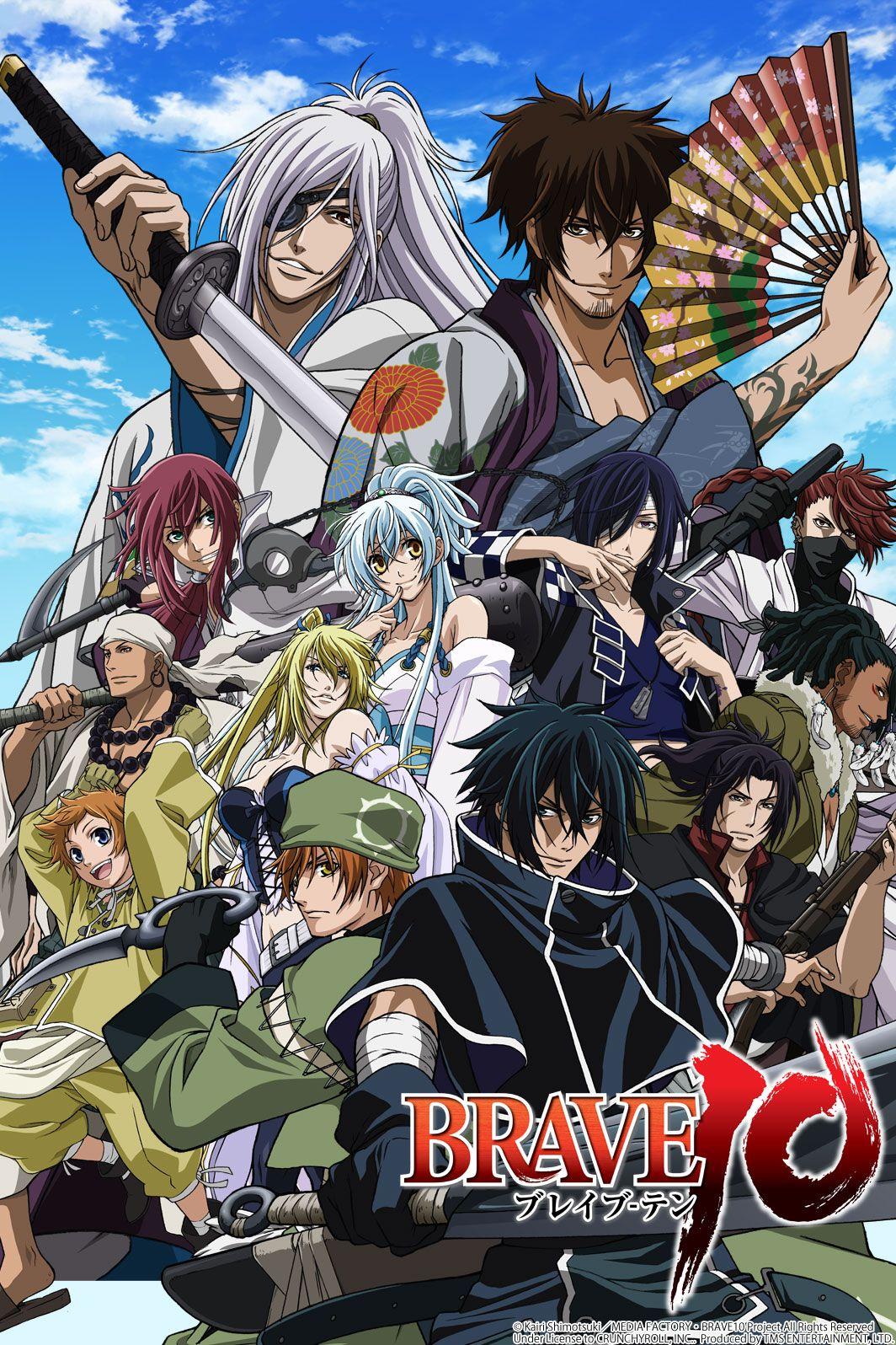 """Десятка храбрецов"" Алое отчаяние Anime, Popular anime"