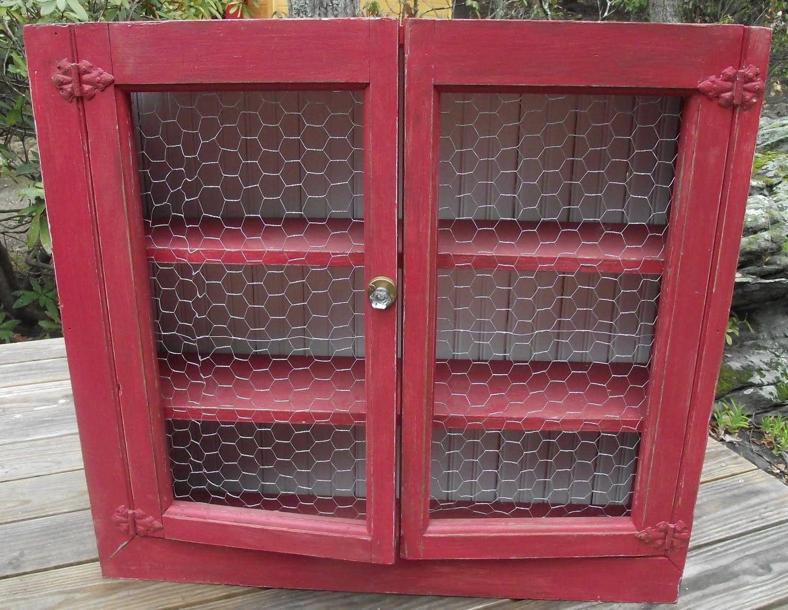 Brass Chicken Wire Cabinet Doors | Serendipity Chic Design: Vintage ...