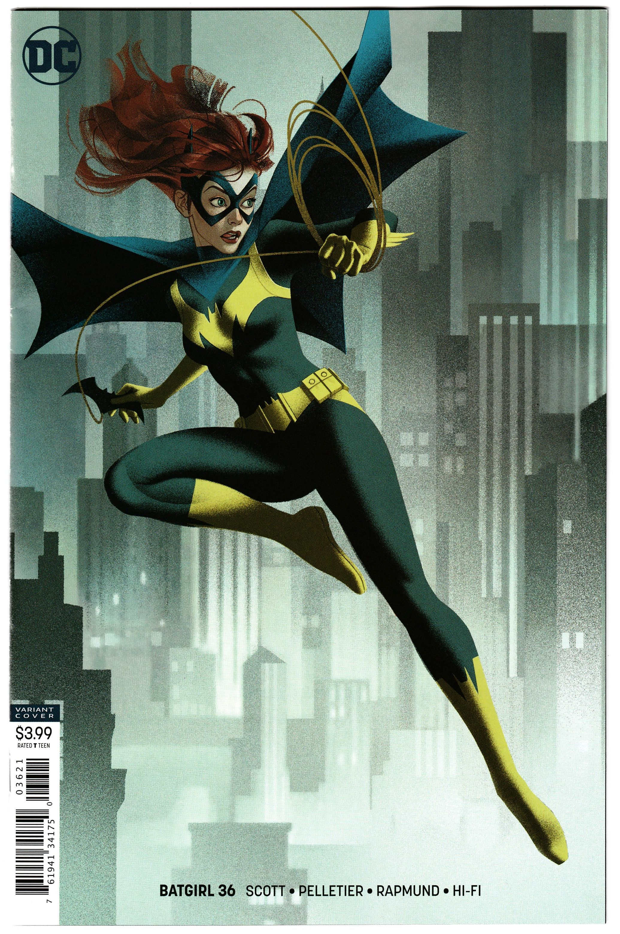 Batgirl # 48 Variant Cover  NM DC Joker War
