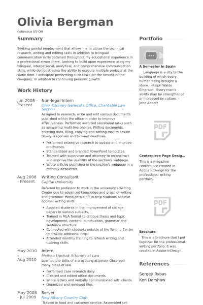 Visualcv Legal Intern Resume Samples Visualcv Resume Samples Database 8a3ae598 Resumesample Resumefor Resume Resume Examples Resume Template