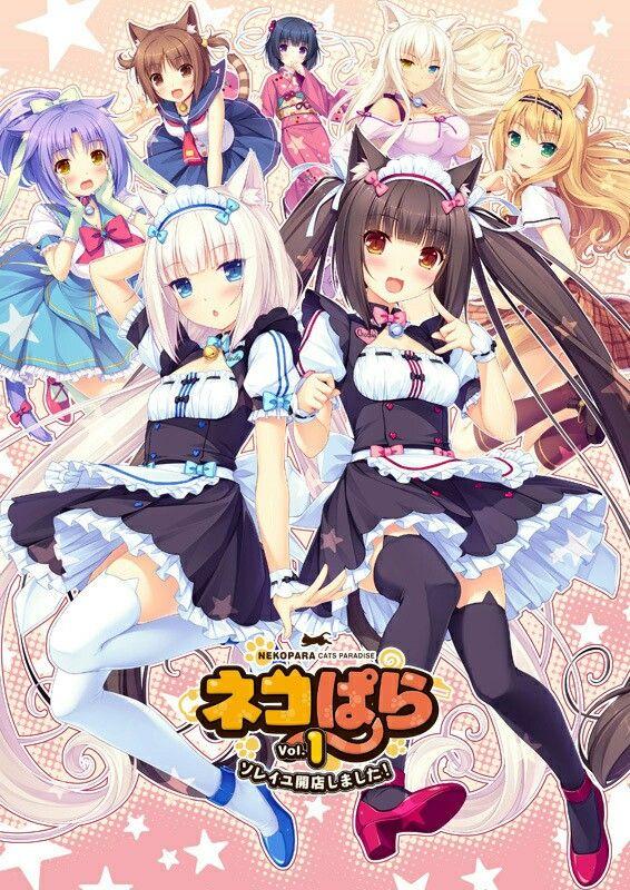 Nekopara Anime kawaii, Personagens de anime feminino