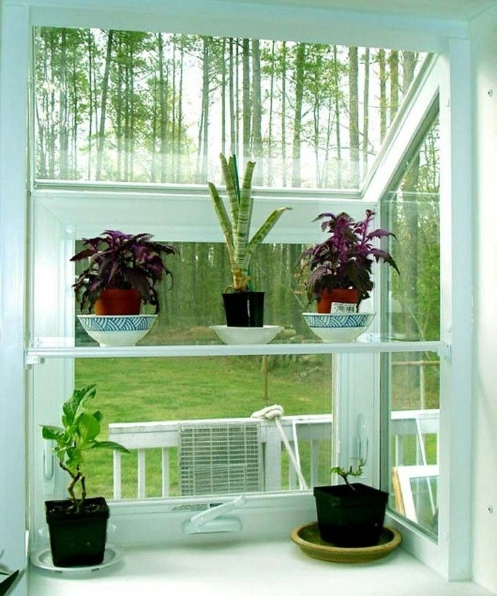 Inspirierende Dekoideen kleiner Innen-Gartenbereich