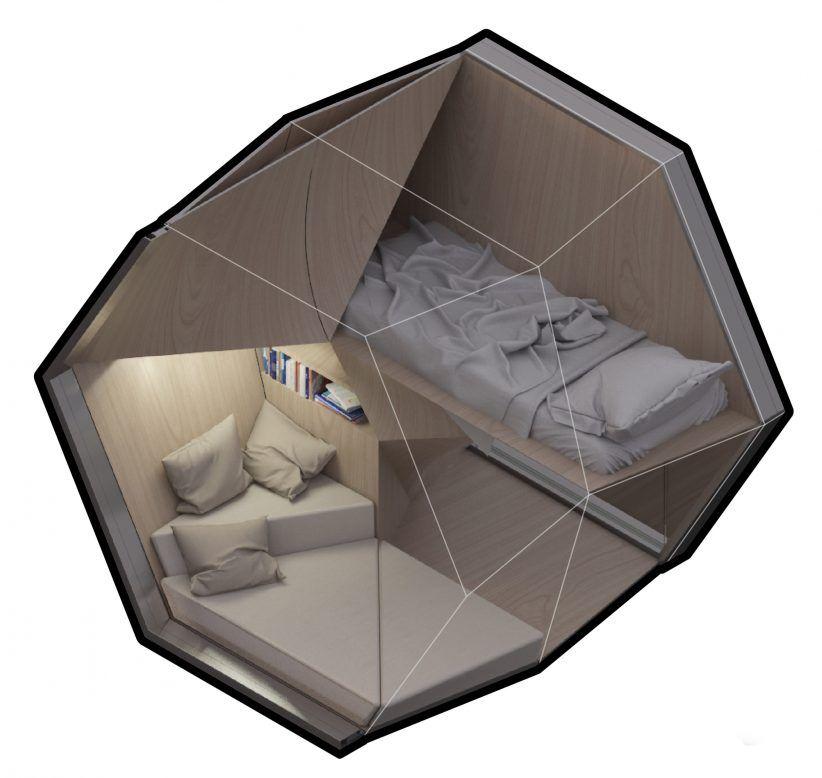 Framlab Proposes Parasitic Hexagonal Pods To Sleep New York S Homeless Homeless Shelter Design Shelter Design Portable Shelter