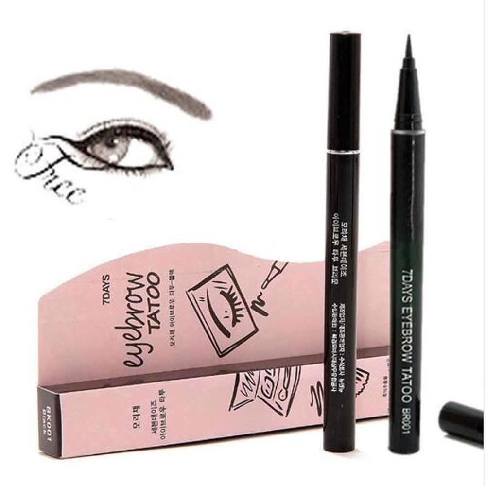 Eyebrow Pen 7 Day Miracle Coverage Brown Shade 5 Marsh Mallow Men