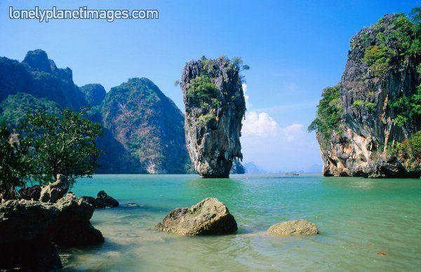 Phang-Nga Bay, Phang-Nga, Thailand, South-East Asia, Asia