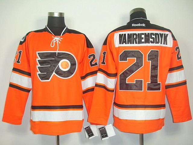 quality design 9899a 911ac Philadelphia Flyers 21 James VAN RIEMSDYK 2012 Winter ...
