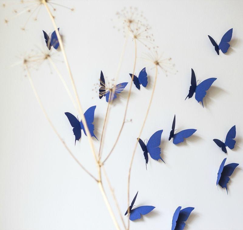 envolée papillons decoration murale chambre bébé enfant salonTRENDY