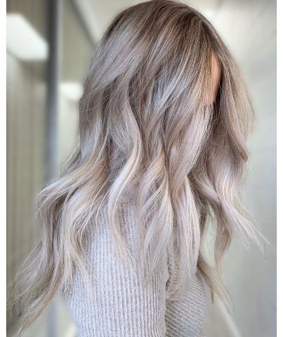 Ash Blonde Hair Colors You Will Love - Fashion Is My Crush #ashblondebalayage