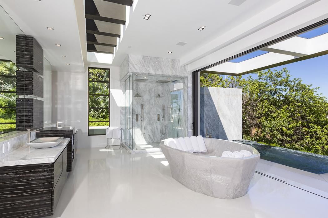 Modern Mansion Master Bathrooms Dream Bathrooms Modern Mansion