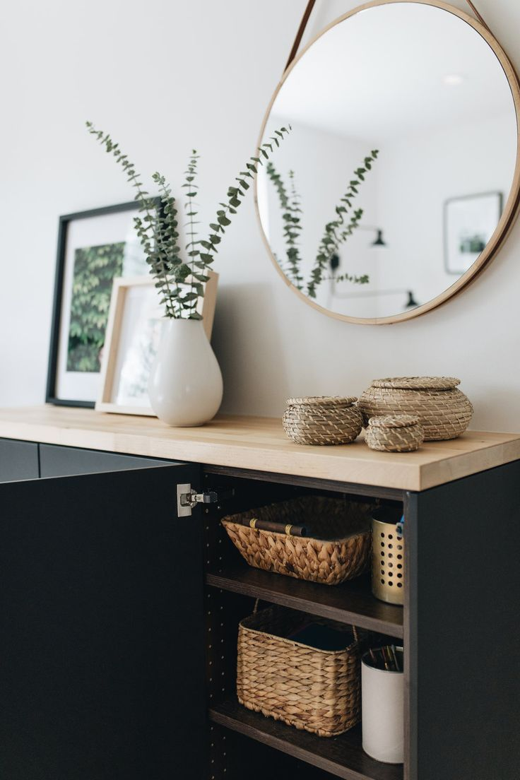 Ikea Cabinets: Not Just for the Kitchen  — Mountainside Home