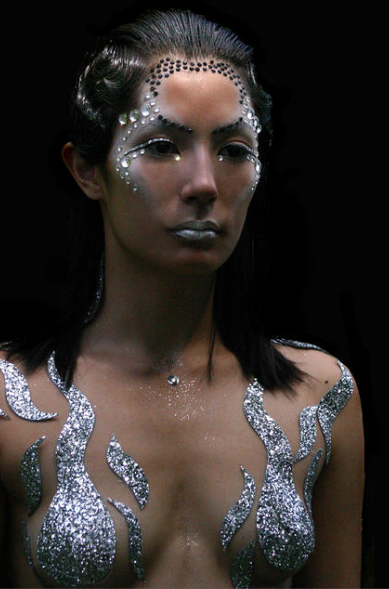 Makeup -- The Moon by Rachel Friere