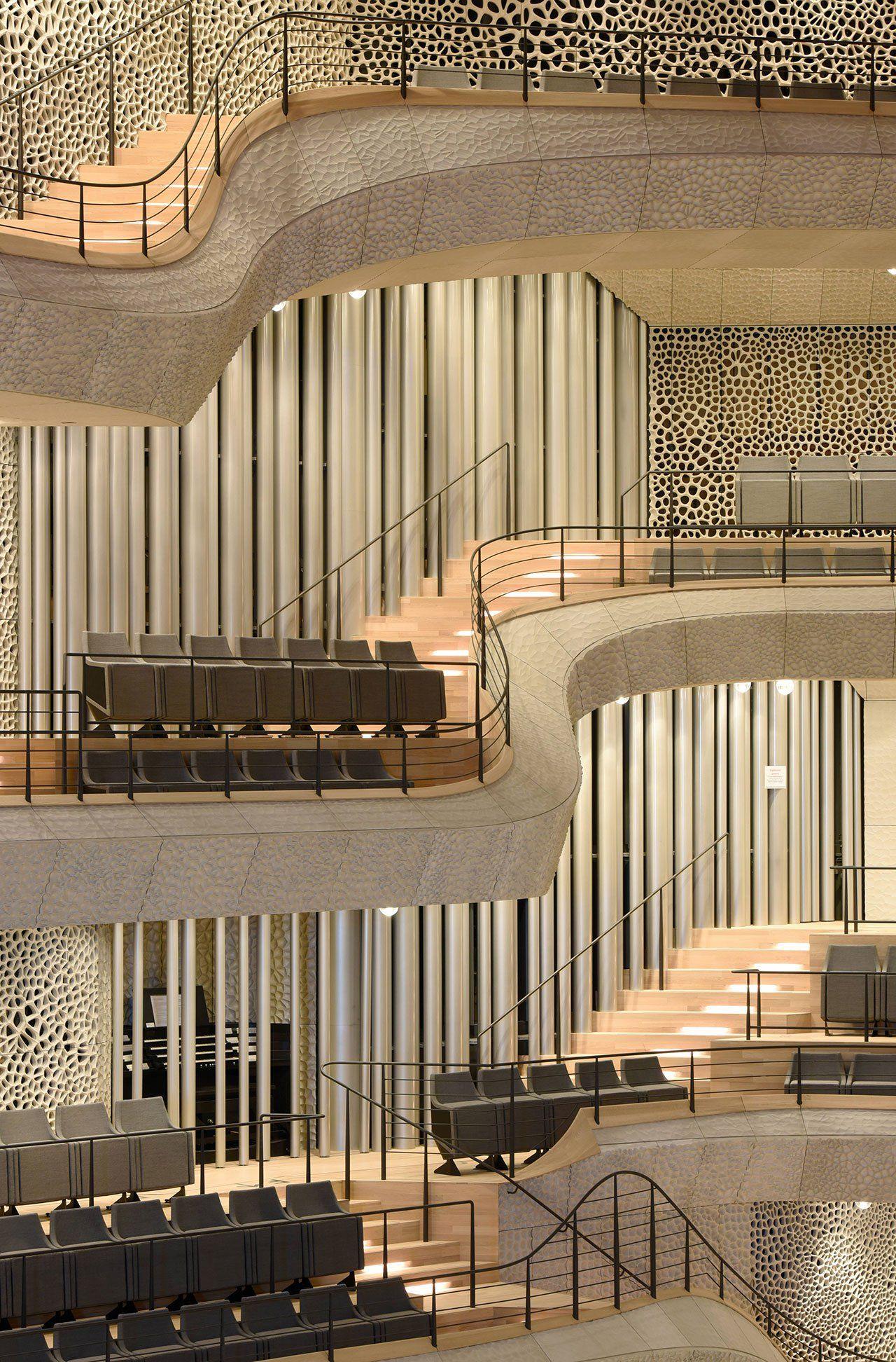 The Majestic Elbphilharmonie In Hamburg By Herzog De Meuron Yatzer Architecture Concert Hall Architecture Details