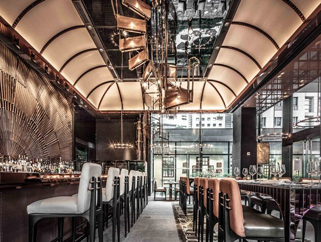 Designer Bar Cafe Restaurant London Berlin New York