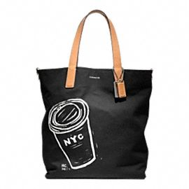Coach. Coffee. Bag.