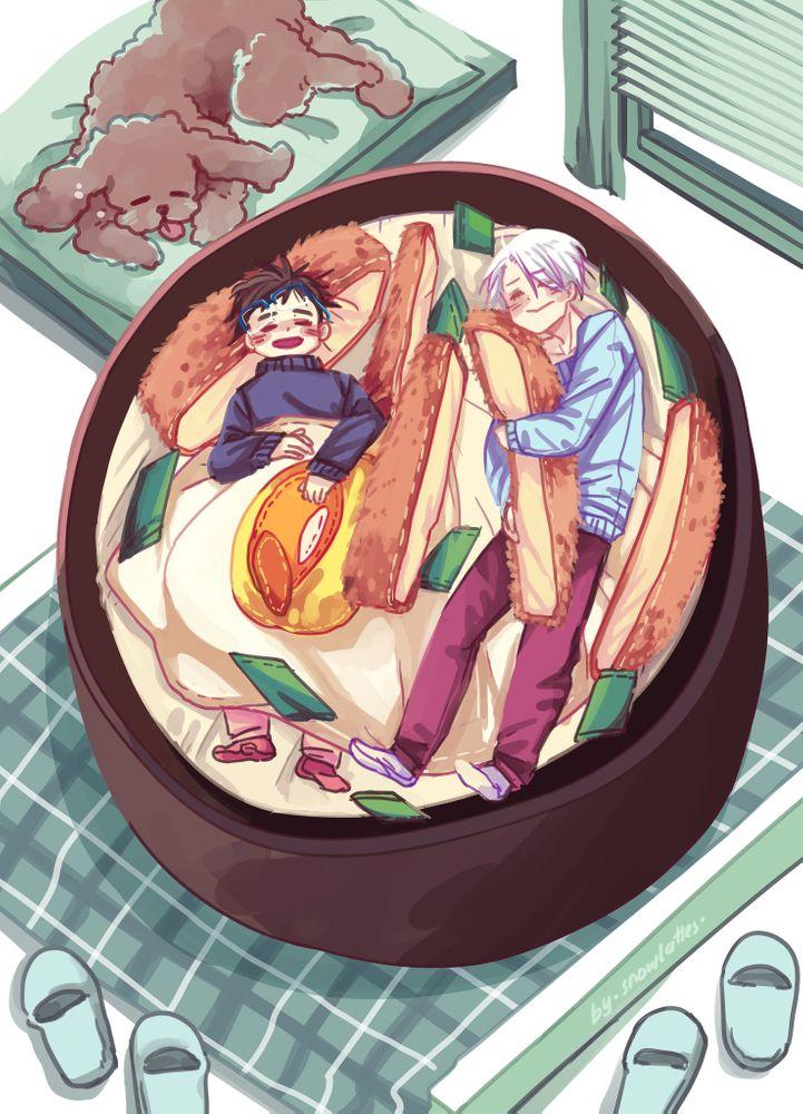 katsudon bed / yuri on ice! Art Print