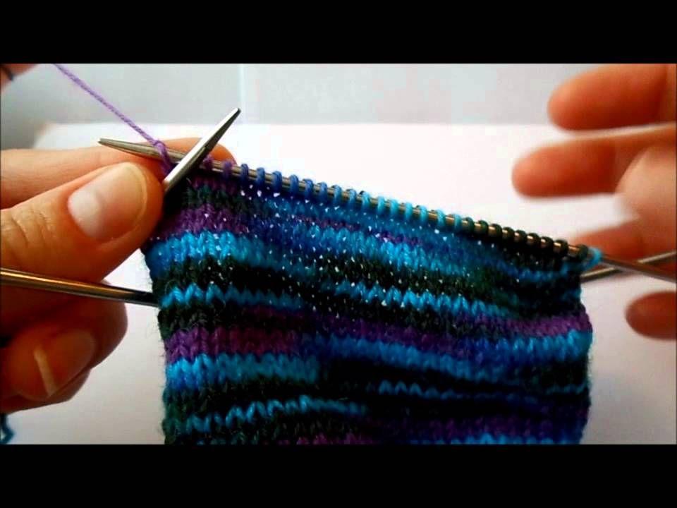 Toeup Socken Stricken Teil 4 Bumerangferse Ohne Wickelmaschen