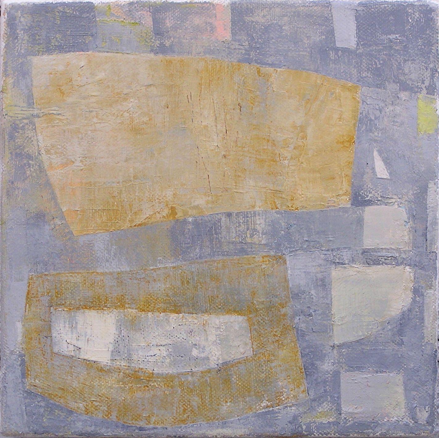 Patrick Bradley Pacific Drift oil on canvas  20cms x 20cms