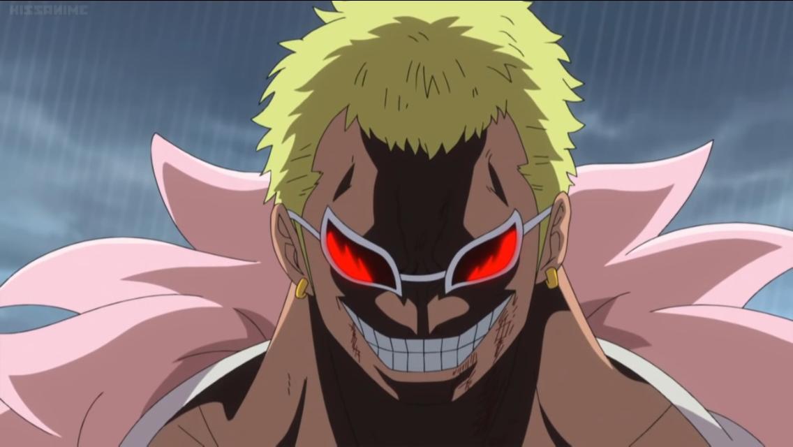 Angry Doflamingo Anime, Manga