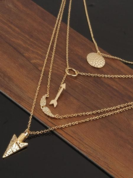 Arrow&Angel Wing &Alloy Necklaces is part of Womens necklaces, Chain jewelry necklace, Fashion necklace, Beautiful necklaces, Women jewelry, Arrow pendant necklace - 59cm Amount 1PCS Receiving time Processing time+Shipping time Processing Time 13 business workdays Delivery times vary depending on your shipping destination Other Countries about 20 days Costs  Standard Shipping US $4  We offer free standard shipping for orders of more than $59 in value  Returns 1 You have 14 days to decide if an item is right for you, if not, you can certainly come to us within 14 days of receipt  2 The following items cannot be returned or exchangedAccessories, Clearance and Lingerie  3 Items returned must be in their unused condition with the original packing  We do not accept a returned item that's worn, damaged, washed or altered in any way  4 We do not accept returned items that were sent back by you directly without checking with us first  5 Buyer is responsible for return shipping cost