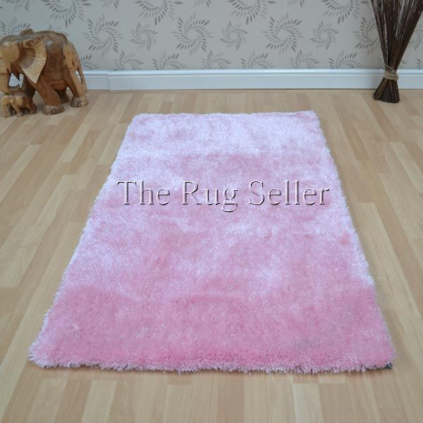 Swing Melody 46 Pink Shaggy Rugs