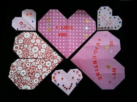 Photo of How to Make an Easy Origami Heart for Valentine's Day (difficulty 2/10) by Origami for Kids