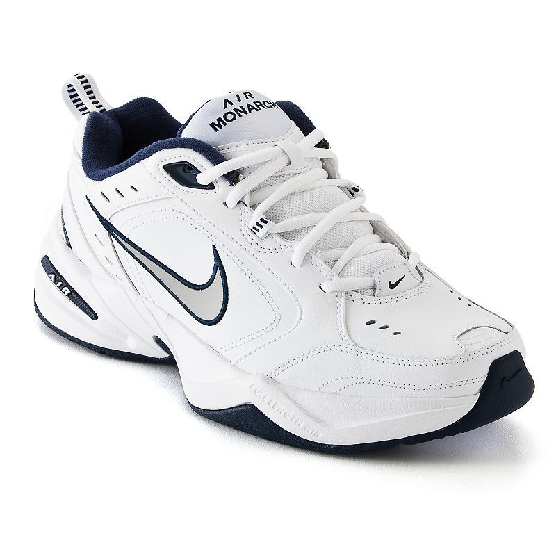pretty nice 60317 8bf11 Nike Air Monarch IV Men s Cross-Training Shoes, Size  10.5 Wide, White