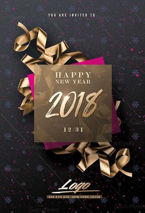 Creative Psd New Year Flyer Templates Free Flyer Templates Flyer